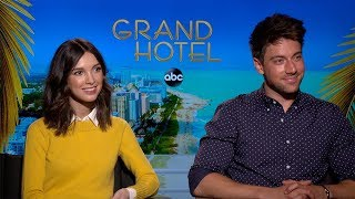 Denyse Tontz & Lincoln Younes Interview: Grand Hotel   Abc