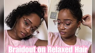 How To Do A Braid Out On Short Relaxed Hair Free Video Search Site
