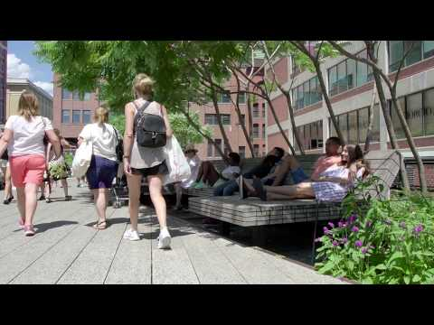 "Watch the ZinCo-Video ""The Roof Garden of the High Line, New York"""