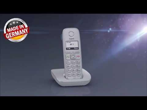 Gigaset E310: видео обзор DECT-радиотелефона