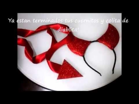 Disfraz de Diablita Sencillo y Economico | MIMIDIY