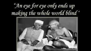 Mahatma Gandhi Quotations Video