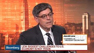 Jacob Lew on Trade War, Yuan, Yield Curve, U.S. Economy