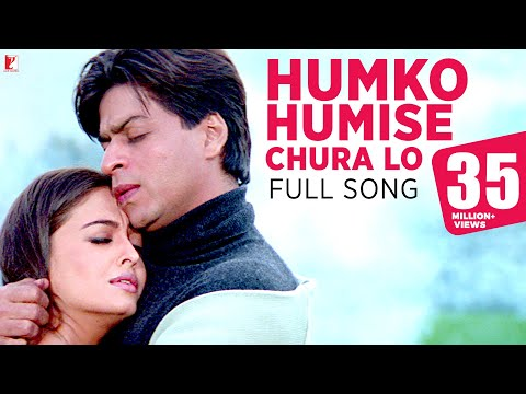 Humko Humise Chura Lo - Full Song | Mohabbatein | Shah Rukh Khan | Aishwarya Rai | Lata | Uday  downoad full Hd Video