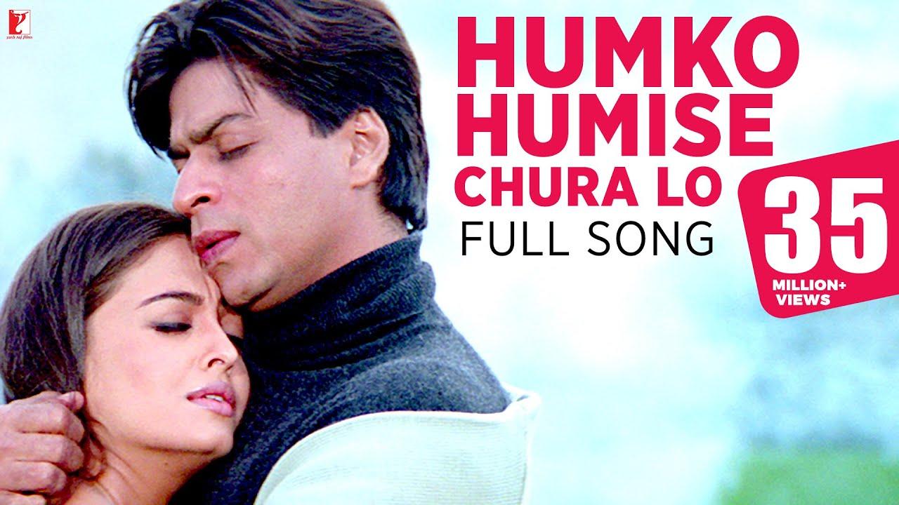 Humko Humise Chura Lo - Full Song | Mohabbatein | Shah Rukh Khan | Aishwarya Rai  downoad full Hd Video