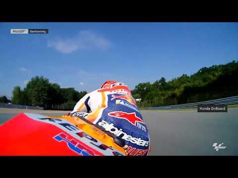 German GP: Honda OnBoard