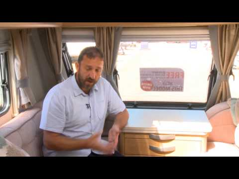 Practical Caravan reviews the Compass Rallye 554