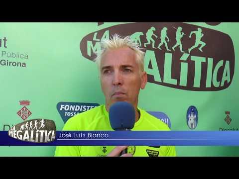 Presentación Tossa TV Jose Luis Blanco La Megalítica 2018