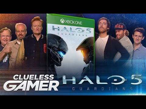 Conan, Andy a Aaron hrají Halo 5: Guardians
