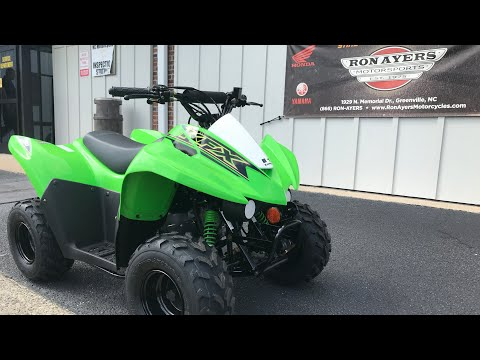 2021 Kawasaki KFX 50 in Greenville, North Carolina - Video 1