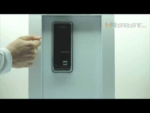 Накладной биометрический замок со сканером отпечатков пальцев H-Gang Sync TR811