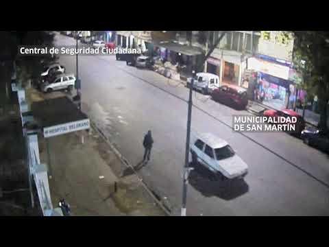 Las cámaras de seguridad del municipio de San Martín permitieron identificar y detener a los sospechosos del asesinato en Villa Ballester