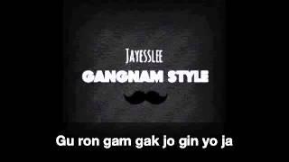 Jayesslee - Gangnam Style (Studio Version) - Lyrics Video