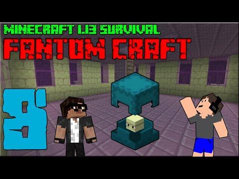 ENDCITY! Minecraft survival 1.13! #8 |FANTOM CRAFT| w/CukeMan