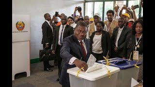Polls open in tense Mozambique election - VIDEO