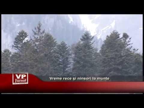 Vreme rece şi ninsori la munte