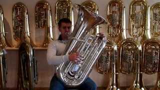 Charles Nickles With A Miraphone Tuba CC 1293