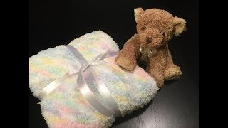 HOW TO - KNIT AN EASY SOFT & CUDDLY BABY BLANKET