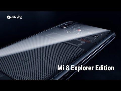 Официальный трейлер Xiaomi Mi 8 Explorer Edition