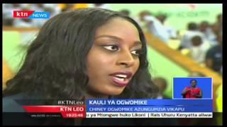 Kauli ya Chiney Ogwumike katika mchezo wa vikapu