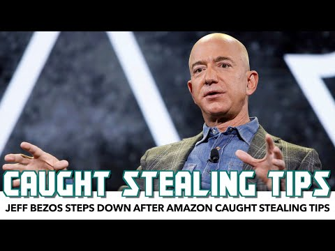 Jeff Bezos Steps Down After Amazon Caught Stealing Tips
