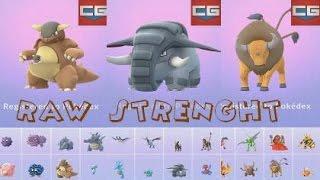 Donphan  - (Pokémon) - Pokemon Go Donphan Evolved, Rare Wild Kangaskhan, Tauros, Ursaring Spawns caught, Lvl 33