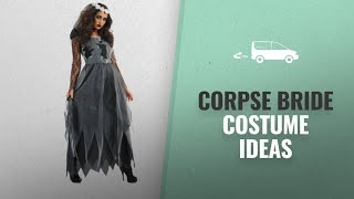 Corpse Bride Costume Ideas Halloween 2018: Fun Shack Fancy Dress Black Corpse Bride Costume