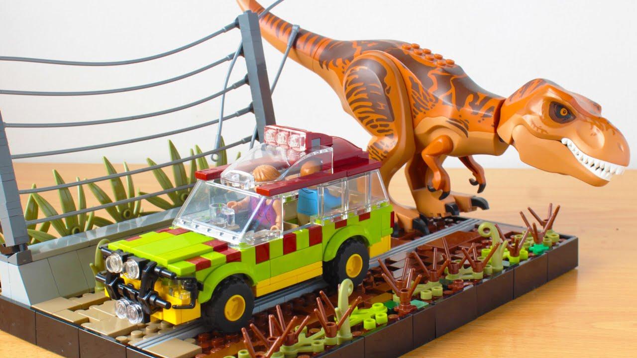 Lego Jurassic Park Ford Explorer MOC