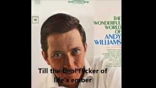 "07  ""Quiet Nights of Quiet Stars"" - Andy Williams (Classical Guitar with Lyrics)"