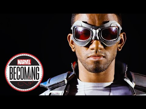 Cosplayer Blerd Vision Becomes Sam Wilson'S Captain America