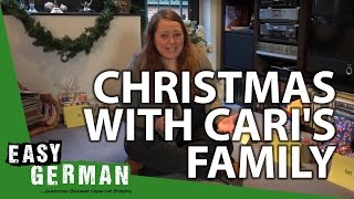 Christmas With Caris Family | Easy German 121