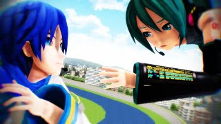 【MMD-PV】Kaito x Miku ( 3OH!3 - I'm Not The One )
