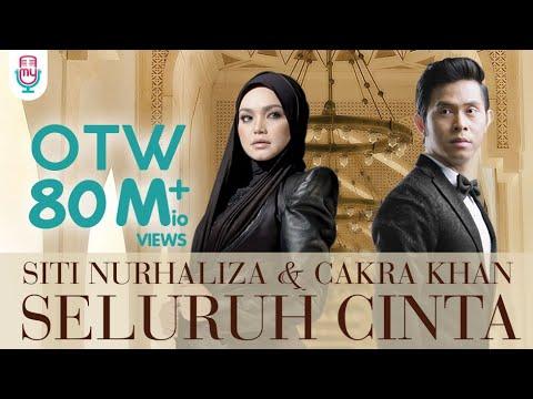 Siti nurhaliza  amp  cakra khan   seluruh cinta  official lyric video