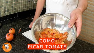 #8 - Como Picar Tomate