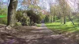 Fpv Quadcopter Through the Park, London