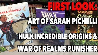FIRST LOOK:Hulk: Incredible Origins, The Art Of Sara Pichelli & War of the Realms Punisher!
