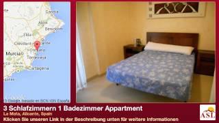 preview picture of video '3 Schlafzimmern 1 Badezimmer Appartment zu verkaufen in La Mata, Alicante, Spain'