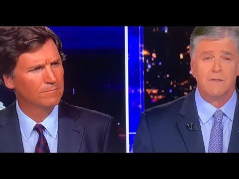 Hannity Snipes At Tucker In Awkward Show Hand Off!