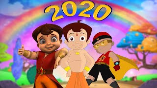 Green Gold - Best of 2020 | Top 10 videos | Chhota Bheem | Mighty Raju | Hindi Cartoon for Kids