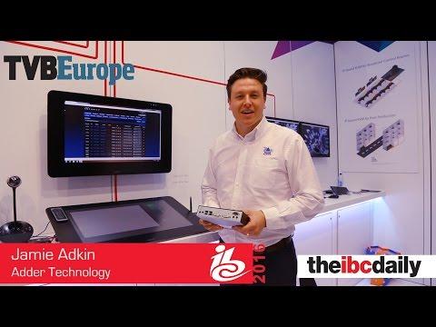 Jamie Adkin von Adder Technology stellt unsere IBC Highlights vor