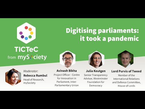 Digitising parliaments: it took a pandemic