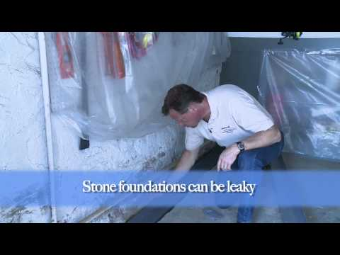 How to Waterproof Leaky Stone Foundations