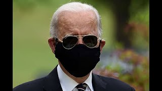 Trump reacts to Biden and wife wearing face masks in public