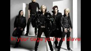 Cinema Bizarre - in your cage (with lyrics!!)