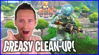 Clean up in Greasy Grove with New SKIN!!!