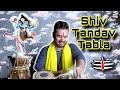 SHIV TANDAVA STOTRAM - POWERFUL ENERGETIC TABLA COVER