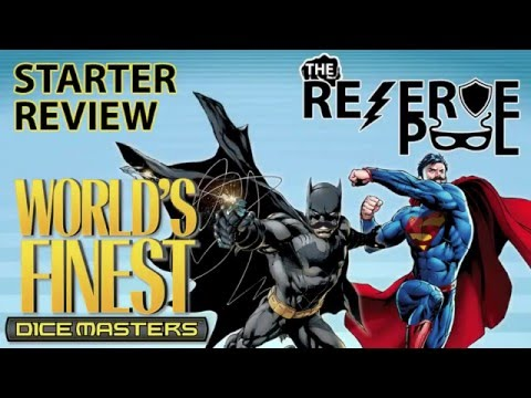 DC Dice Masters World's Finest Starter Review: Characters part 2