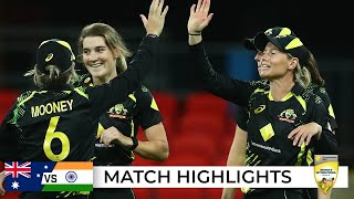 Mooney, McGrath star again as Aussies win final T20I | Third T20I | Australia v India 2021