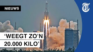 Chinese raket stort straks ergens op aarde: 'Het is een grote jongen'