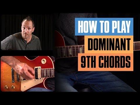 Super Simple Dominant 9th Chords   Guitar Tricks